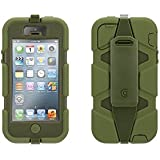 A-discovery - Coque Griffin Protection Survivor Compatible Apple iPhone 5/5s Kaki