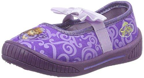 Sofia die ErsteGirls Kids Ballerina Houseshoes - Ciabatte non imbottite Bambina , Viola (Violett (Lpu/PUR 075)), 29