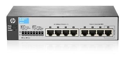 HP J9800A V2 Interrupteur Actionné à Partir du Web à Ports Fixes 24 Prises RJ-45 SFP