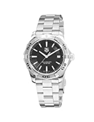 TAG Heuer Men's WAP1110.BA0831 Aquaracer Black Dial Watch