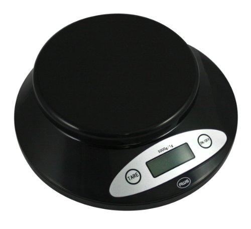 AWS 5KBOWL-BK am-ricaine p-sent 5 kg Bowl Scale - Noir