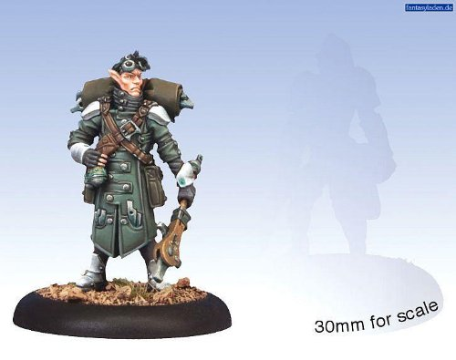 Privateer Press - Warmachine - Retribution: Arcanist Solo Model Kit