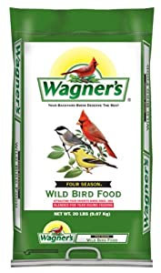 Wagner's 13004 Four Season Wild Bird Food, 20-Pound Bag
