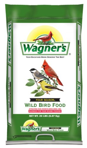 Wagners 13004 Four Season Wild Bird Food, 20-Pound Bag