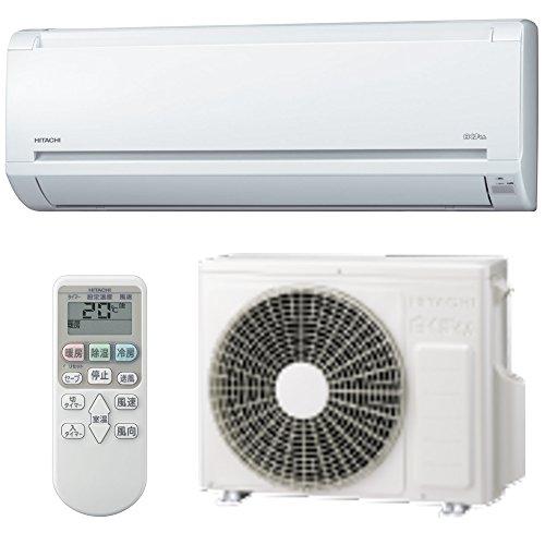 冷暖房エアコン6畳用(2.2kw)除湿機能有り色:白コンパクトサイズ2016年度最新モデル