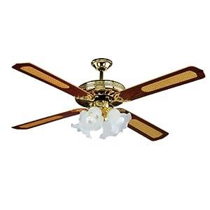Decorar cuartos con manualidades ventiladores de techo - Lamparas de techo con ventilador ...