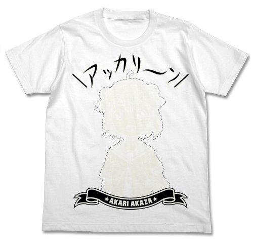 ゆるゆり アッカリーンTシャツ ホワイト サイズ:M