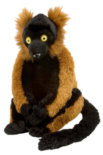 Wild Republic Cuddlekin Red Ruffed Lemur 12