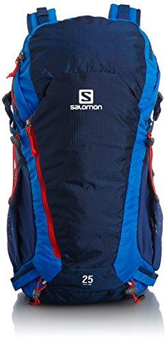 Salomon - Zaino Sky AW, 48 x 26 x 20 cm, 25 litri, Multicolore (Midnight Blue/Black/Matador-X), 48.00 x 26.0 x 20.0 cm, 25 Liter