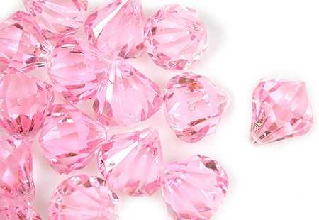 2lb of 20 Carat Pink Acrylic Diamonds – Big Diamonds Big Bling