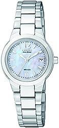 "Citizen Women's EW1670-59D ""Silhouette"" Stainless Steel Eco-Drive Watch"