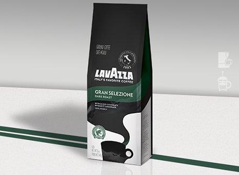 Lavazza Ground Coffee Gran Selezione 340g (2-pack)