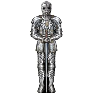 Beistle 54327 Suit of Armor Cutout, 3-Feet