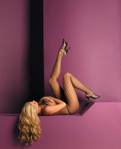 Women's Seamless Net Lycra Body Stocking