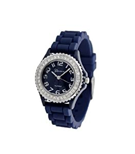 Geneva-Silicone-Ceramic-Crystal-Womens