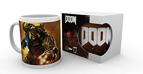 Doom - Cyber Demon - Tazza in ceramica - dimensioni 9,5 cm