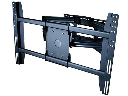 "New Premium Universal Adjustable Tilting/Swiveling Articulating Full Motion Dual Arm Tv Wall Mount Bracket For Lcd Led Plasma - Black (Max 200 Lbs, 40-65""* Inch) *Max Vesa 800X500 Haier Hl42Xk1 Hl42Xd2"