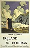 Irish Travel Poster, Dingle Peninsula County Kerry, Ireland for Holidays by Paul Henry
