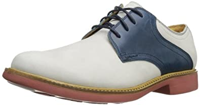 Cole Haan Men's Great Jones Saddle Oxford,Alloy,7.5 M US