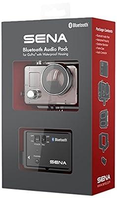 SENA GP10-02 - Bluetooth Audio Pack avec Housse Etanche pour caméra GoPro