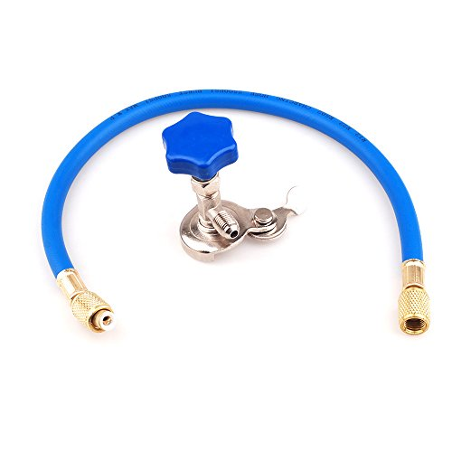 R12 R22 Can Tap Tapper Refrigerant Recharge Hose Kit (Gas Freon 22 compare prices)