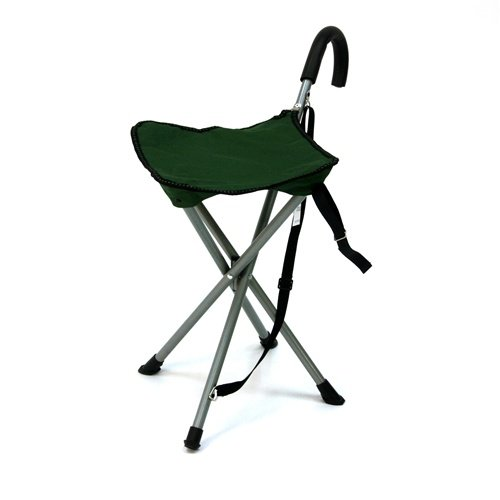 Folding cane chair Walking stick with stool Health Beauty Health Care Mobil