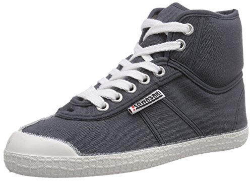 Kawasaki - Rainbow Basic, Sneaker alte Unisex - Adulto, Grigio (Dark Grey wht sole/644), 39