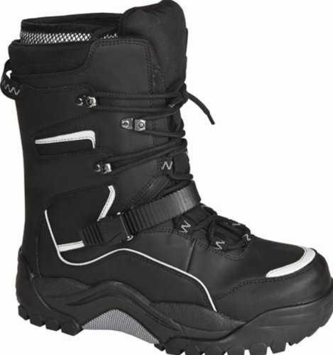 Baffin Inc Hurricane Boots , Primary Color: Black, Size: 13, Distinct Name: Black, Gender: Mens/Unisex PWST-M001-BK1-13