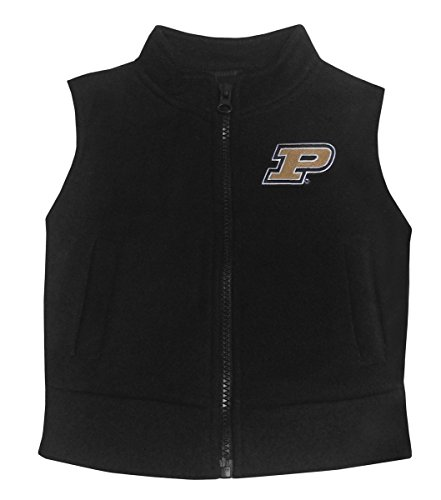 Creative Knitwear Baby Purdue University Fleece Zippered Vest 18 Months (Purdue Baby Clothes compare prices)