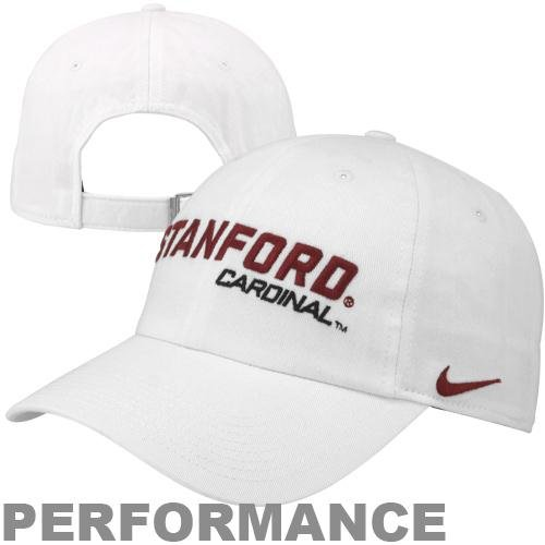 3d5a94c0 Stanford University Cardinal merchandise Nike Stanford Cardinal Heritage 86  Campus Adjustable Performance Hat White