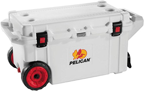 Pelican ProGear Elite Cooler 80 Quart White for UTV Teryx Side x Side Ranger (80 Qt Cooler Pelican compare prices)