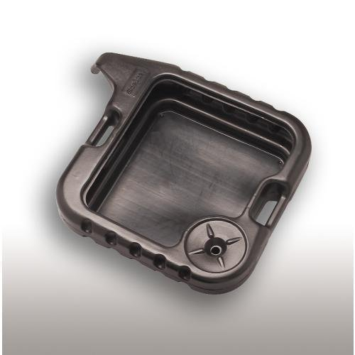 Scepter 06985 Black DP15 Square Drain Pan - 20 Quart Capacity (Motorcycle Oil Drain Pan compare prices)