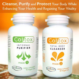 Coltox Colon Cleansing System - Purify, Detox & Flush up to 15 Pounds of Waste Out of Your System!