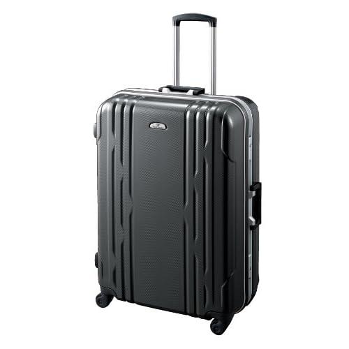 [ワールドトラベラー] World Traveler カイラリティ スーツケース 68cm・80リットル・5.7kg(ACE製) 05437 01 (ブラックカーボン)
