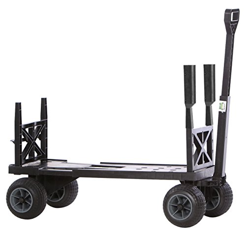 Mighty Max Cart SU600D/BG Sports Fishing & Utility Cart with All-Terrain Weatherproof Wheels (Trash Can Hauler compare prices)