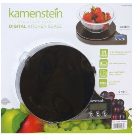 Kamenstein Digital Kitchen Scale 11Lb Black *** Product Description: Features:Durable - Made Of Stainless Steelbacklit Digital Display - For Easy Readingcapacity - 11Lbs Maxzero And Tare Functions - Add Items Without Removing Prior Itemsuses 9V B *** jasjit kaur navneet sharma and harpal singh implants made easy
