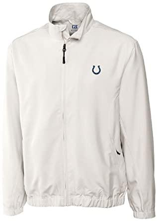 NFL Indianapolis Colts Mens WindTec Astute Full Zip Windshirt by Cutter & Buck