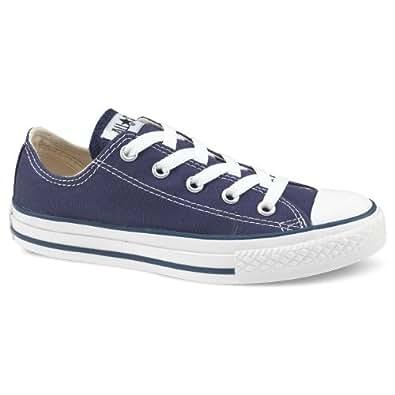 Converse - All Star Baskets - ALL STAR CANVAS OX - Taille EUR 41œ - Couleur Bleu foncé