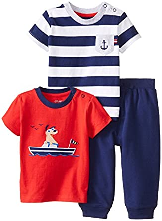 Amazon Little Me Baby Boys Nautical 3 Piece Daycare