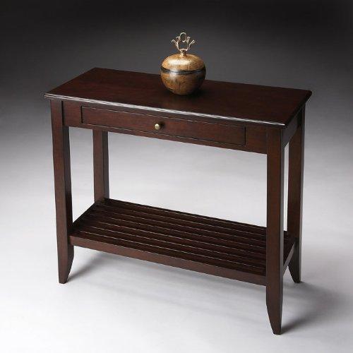 Cheap Loft Collection Wooden Console Table (B009E97O9I)