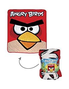 "Angry Birds 50"" x 60"" Throw"