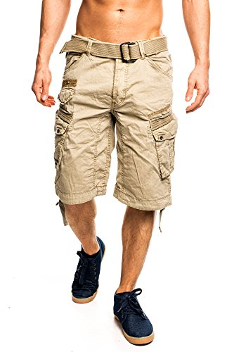 Geographical Norway People Bermuda Cargo Shorts