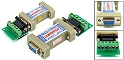 RS-232 to RS-485 Communication Data Converter Adapter With Terminal Board Only From M.P Enterprise