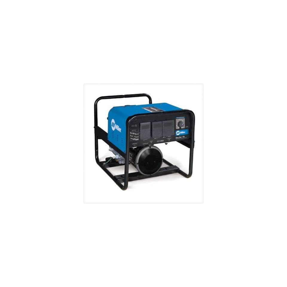 Star 185 Welder/Generator With 13HP Honda Recoil Start Engine With GFCI Receptacles, 6000 Watts Peak, 185 Amps
