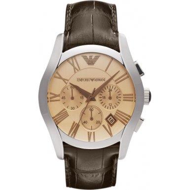 Emporio Armani AR1634 Classic Amber Chronograph Watch