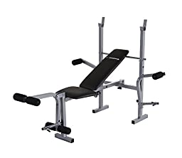 Confidence Fitness Home Gym Multi Use Weight Lifting Bench with Butterfly Attachment