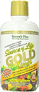 Nature's Plus Source of Life Gold Liquid Tablets, 30 Ounce