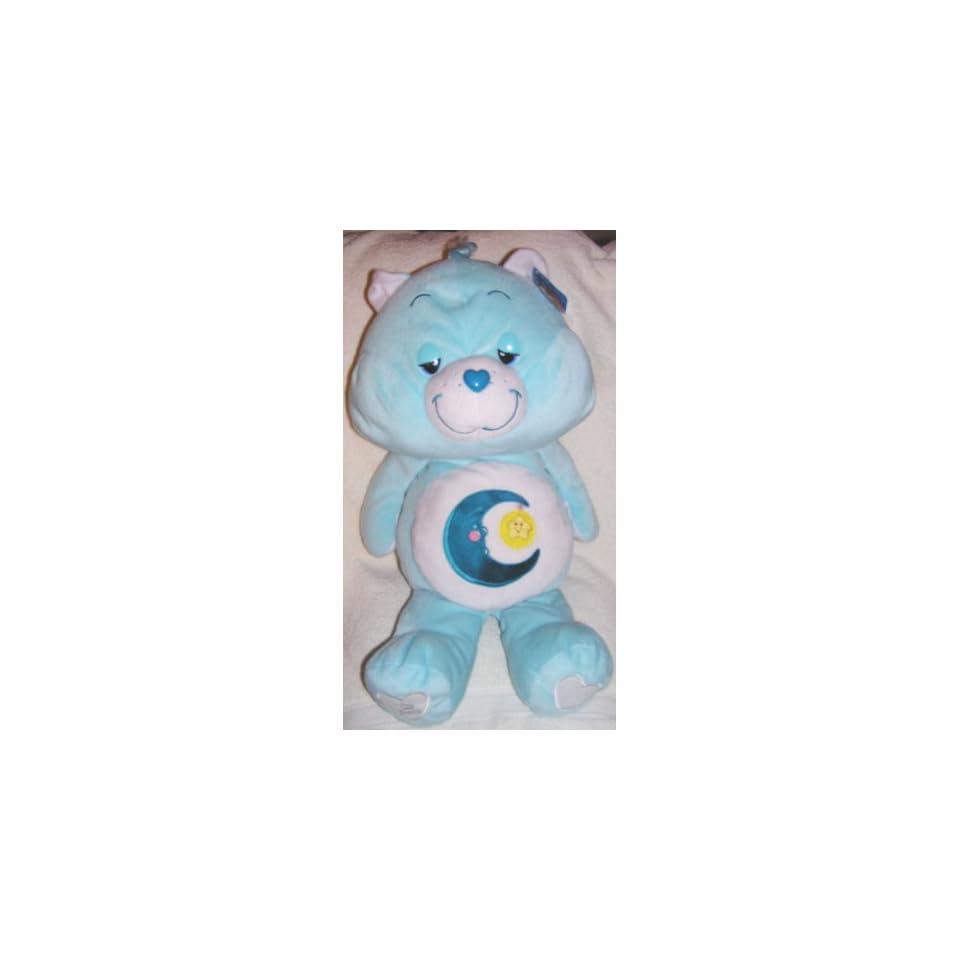 2007 Care Bears 25 Jumbo Plush Bedtime Bear 25th Anniversary Doll