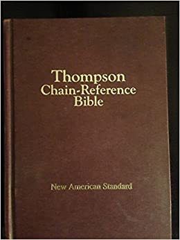 The New Thompson Chain Reference Bible, HC 1964 Kirkbride Bible Co. KJV 4th ed