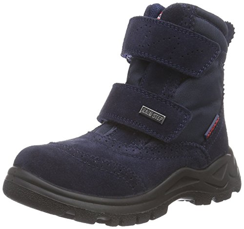 Naturino NATURINO VILLA, Stivaletti da neve a gamba corta, imbottitura pesante Unisex - bambino, Blu (Blau (Blau  9101)), 21